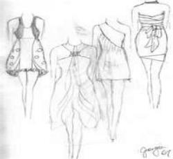 Desain Model Baju - Desain Mode Sketsa